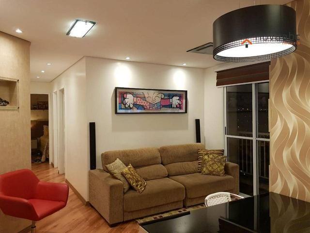 Apartamento com 2 dormitórios para alugar, 50 m² por R$ 1.350/mês - Parque Erasmo Assunção - Foto 5