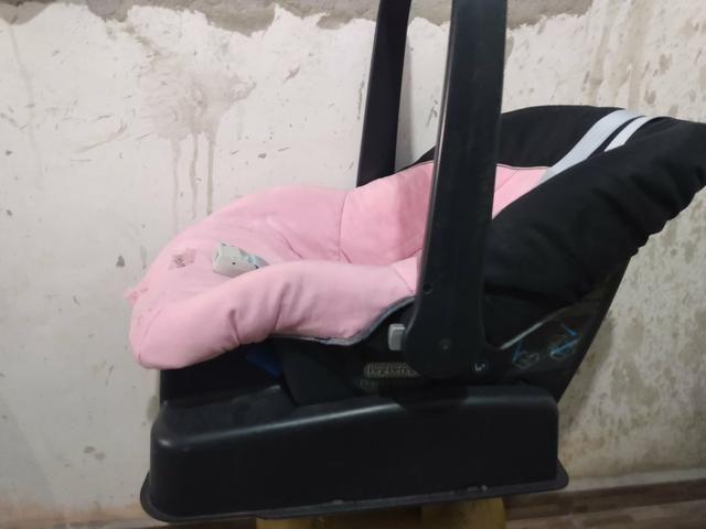 Bebê conforto com base + Berço Burigotto - Foto 3