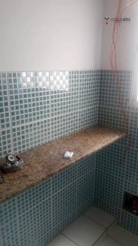 Apartamento com 2 dormitórios para alugar, 56 m² por R$ 1.200/mês - Utinga - Santo André/S - Foto 8