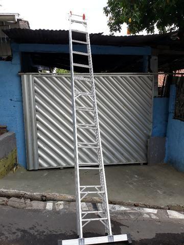 Escada de Alumínio 13 degraus - Foto 2