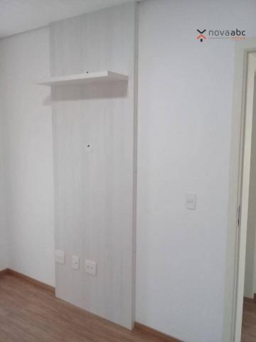 Apartamento com 3 dormitórios para alugar, 85 m² por R$ 2.500/mês - Jardim - Santo André/S - Foto 13