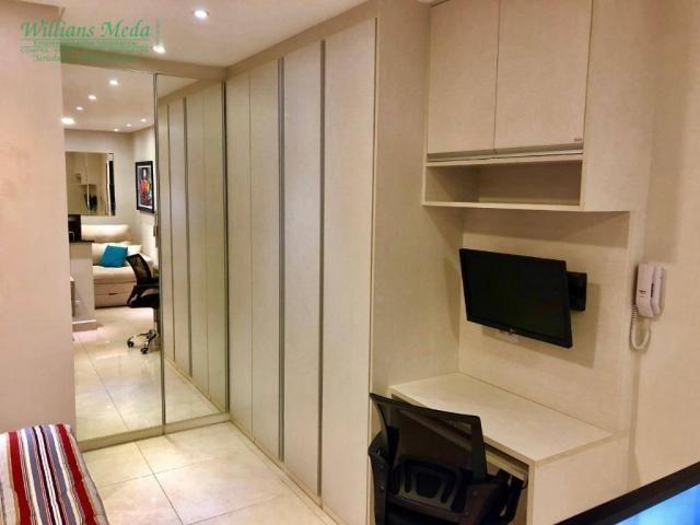 Studio com 1 dormitório para alugar, 36 m² por r$ 1.950/mês - vila augusta - guarulhos/sp - Foto 11