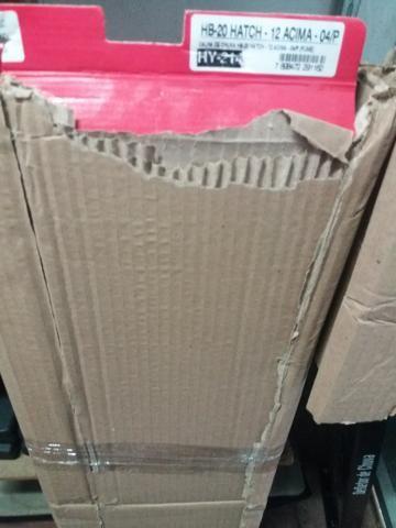 Calha de chuva hb20 hatch 12 4 portas nova na embalagem - Foto 2