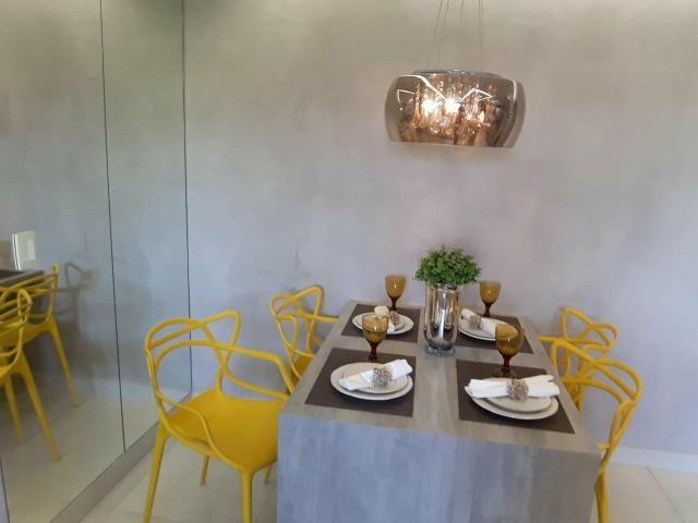 Apart 2 qts 1 suite lazer completo ac financiamento prox ao Buriti shopping - Foto 4
