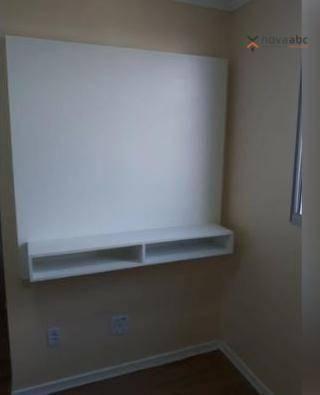 Apartamento com 2 dormitórios para alugar, 50 m² por R$ 1.000/mês - Utinga - Santo André/S - Foto 8