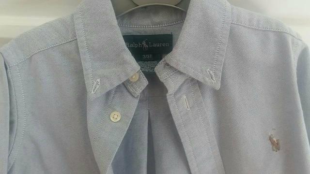 Polo Ralph Lauren - Camisa 3T - novíssima
