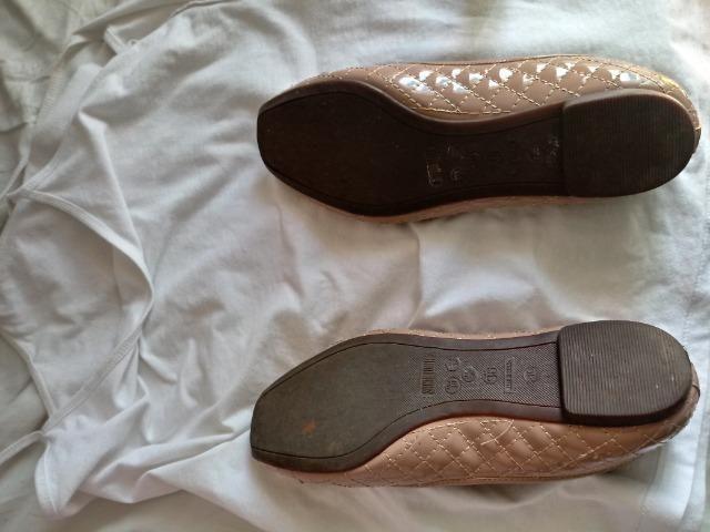 522c36c4e Sapatilha Santa Lolla Matelassê Bico Quadrado - Roupas e calçados ...