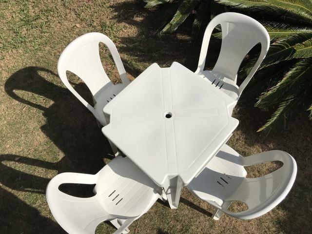 Cadeira bistro capacidade 182kg-R$27,90 Poltrona R$30,00 aprovada pelo Inmetro - Foto 3