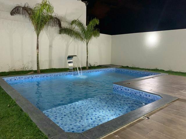 Casa nova 3quartos 3suites piscina churrasqueira rua 12 Vicente Pires condomínio fechado - Foto 9