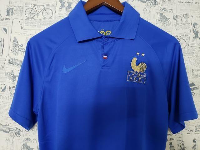 Camisa França Comemorativa 100 Anos - Foto 3