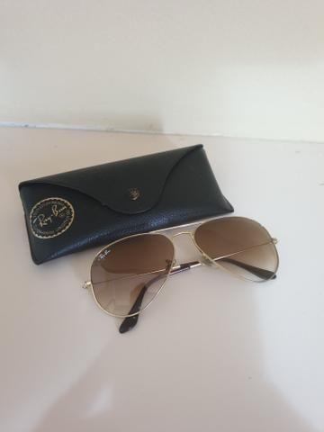 1f146151f Óculos Ray Ban aviador - Bijouterias, relógios e acessórios - Brotas ...