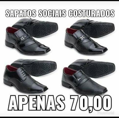 Sapatos sociais costurados( vc não pode perder essa oportunidade)