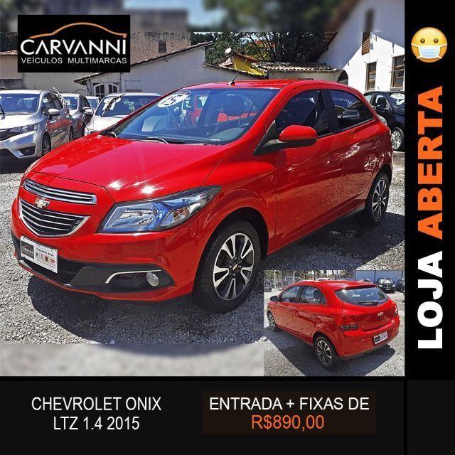 Chevrolet Onix LTZ 1.4 2015 Completo