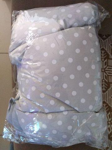 Almofada redutora para bebê conforto ou carrinho - Foto 4