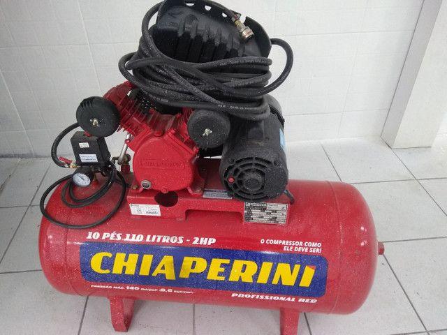 Compressor Chiaperini 110 litros