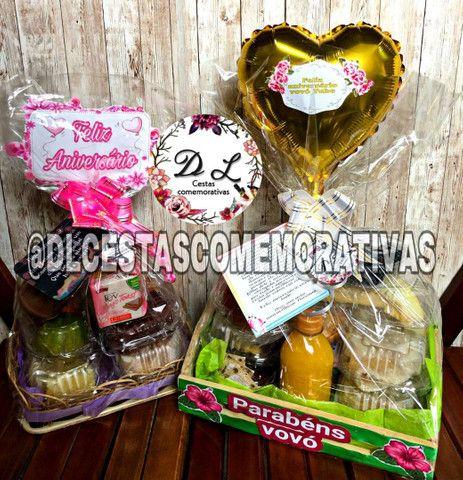 Café da manhã ou cesta Romântica  - Foto 6