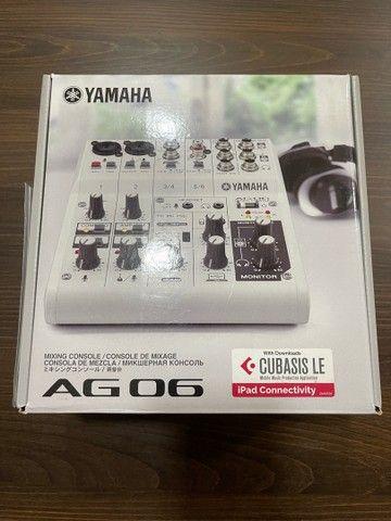 Mesa de som e interface Yamaha AG 06 - Foto 5