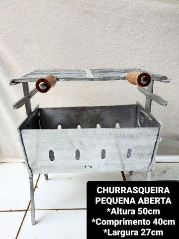 CHURRASQUEIRAS DESMONTÁVEIS  - Foto 2