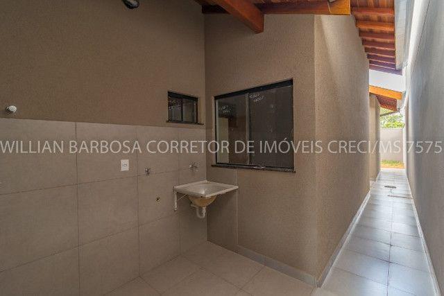 Casa nova com arquitetura moderna e cozinha americana no Rita Vieira 1! - Foto 13