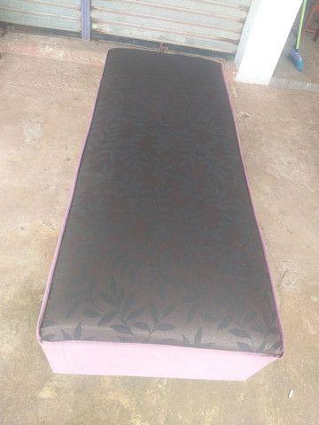 Cama Unibox de solteiro de espuma - Foto 2