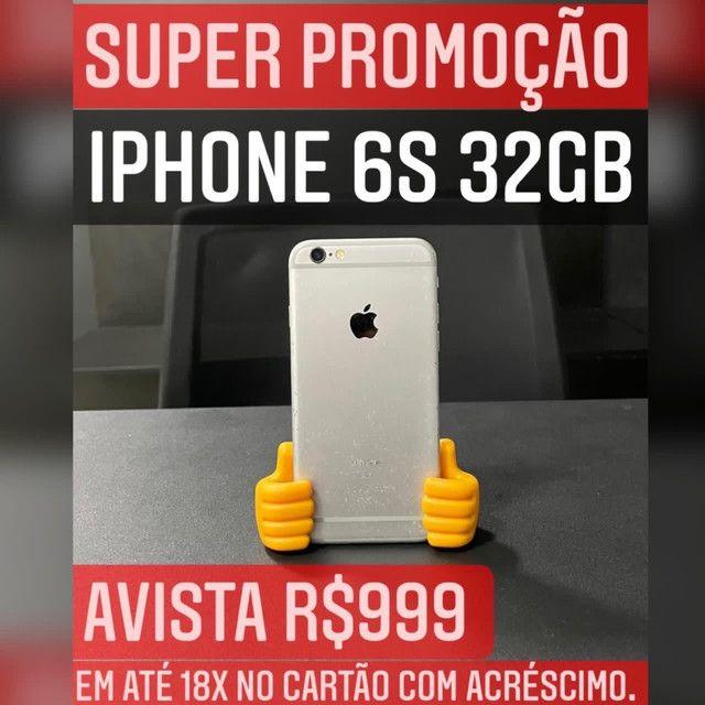 IPHONE 6S 32GB C/ MARCAS DE USO