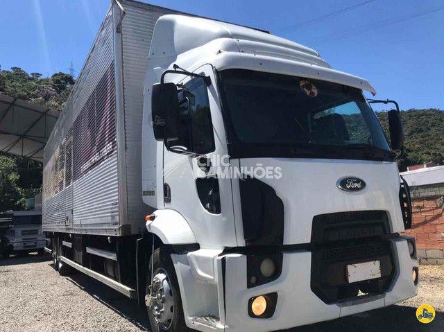 Ford Cargo 2428 2011/2012 BAÚ DE 11,50 MTS - Foto 5