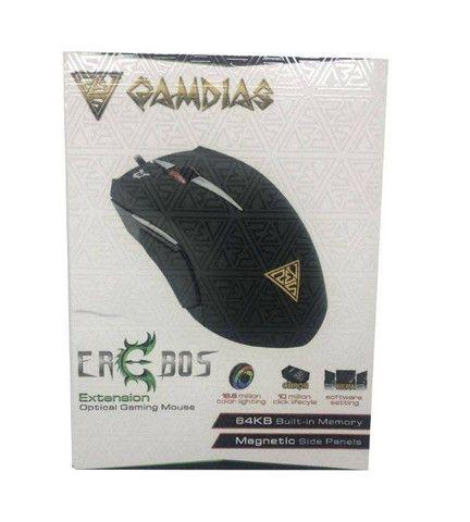 Mouse Gamer Gamdias Erebos Óptico 3500dpi 8 Botões - NOVO a pronta entrega - Foto 5