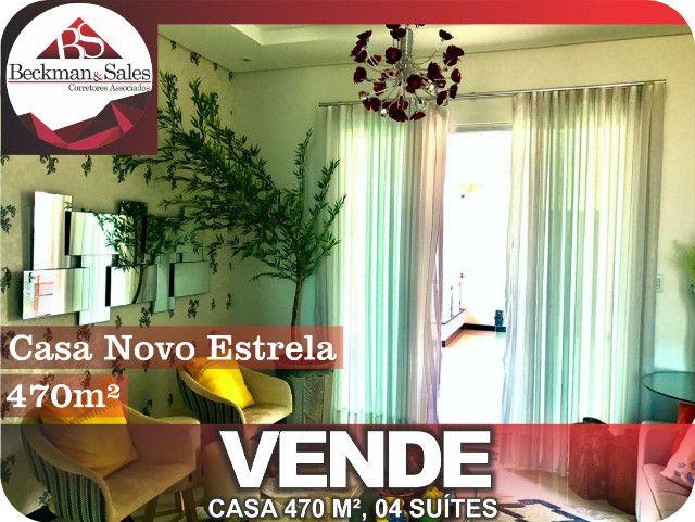 Belíssima Casa de 05 (Cinco) Suítes. - Foto 11