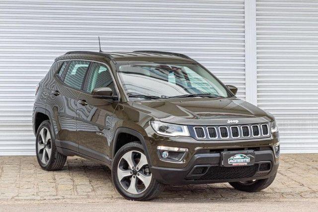 Jeep Compass 2018 longitude diesel 4x4 com pacote premium IPVA 2021 PAGO - Foto 3
