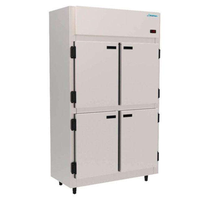 geladeira comercial 4 portas inox pronta entrega(Guilherme