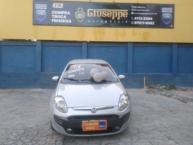 Punto top de linha 1.6  essence top de linha +  Kit gas + 2021 Pago - Foto 2