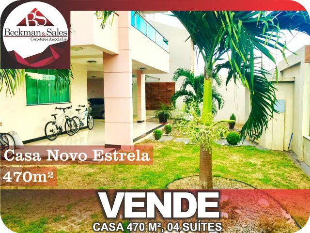 Belíssima Casa de 05 (Cinco) Suítes. - Foto 4