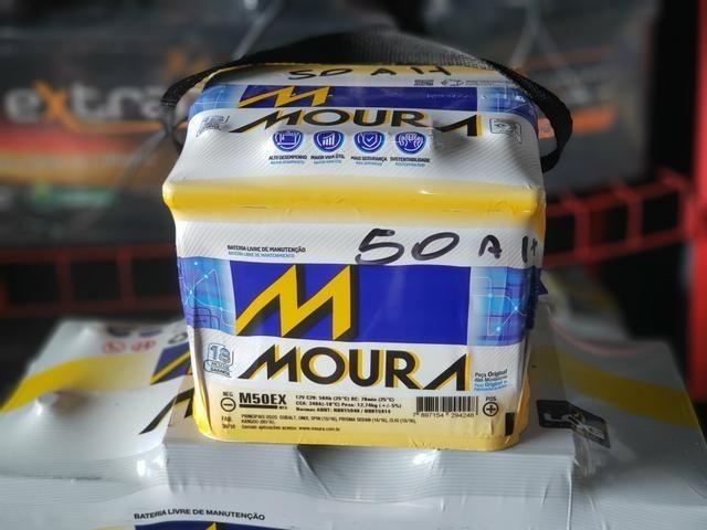 Bateria 50 caixa alta Moura do Onix, Prisma, Hb20 Corola novo Apenas R$330,00 - Foto 2