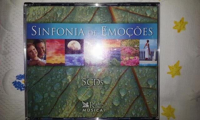 Cd Sinfonia de Emoções Box 5cds