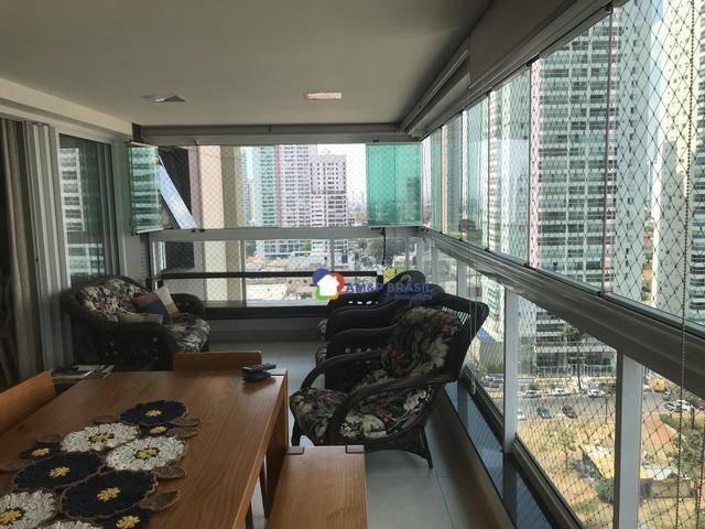 Apartamento com 3 dormitórios à venda, 177 m² por r$ 1.300.000 - setor bueno - goiânia/go - Foto 2