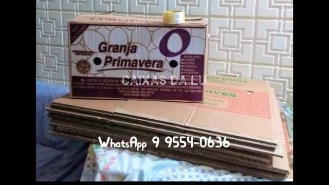 Caixas de Papelão para mudança - R$2,00 (unidade * (whatsApp) - Foto 4