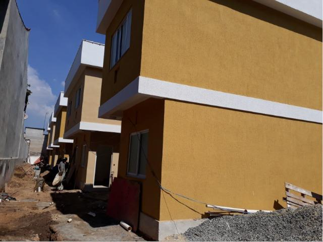 Casas duplex 2 suítes cond.fech. garagem centro C.Grande partir 225mil