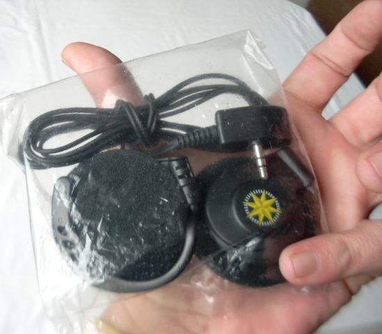 Colecionável Antigo - Fone de Ouvido da Varig - Lacrado
