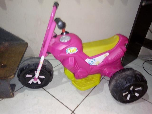 Moto elétrica de menina - Foto 2