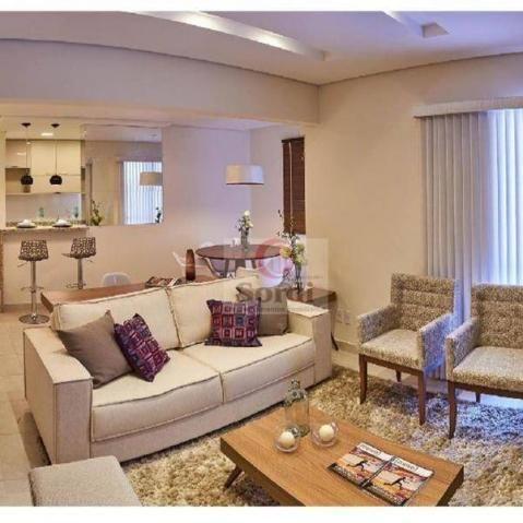 Apartamento com 2 dormitórios à venda, 80 m² por r$ 385.000,00 - vila tibério - ribeirão p