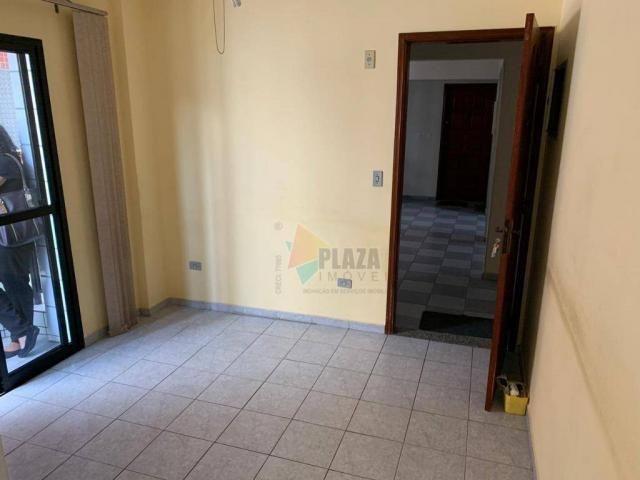 Apartamento com 1 dormitório à venda, 45 m² por r$ 160.000 - vila guilhermina - praia gran - Foto 2