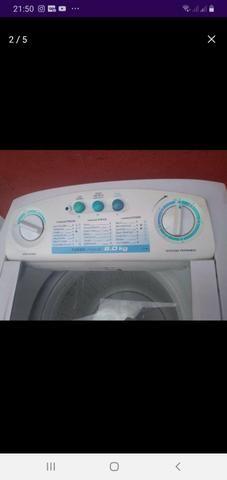 Maquina de lavar Electrolux 8kg turbo limpeza