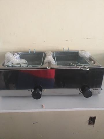 Fritadeira 10 Litros gás tel * - Foto 2