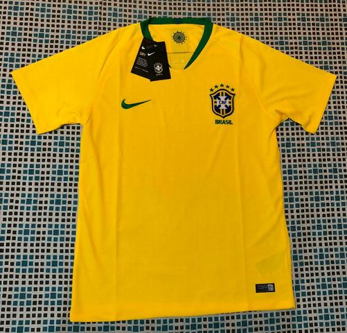 Camisa Brasil Nike 2018