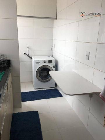 Apartamento com 2 dormitórios para alugar, 63 m² por R$ 2.100/mês - Campestre - Santo Andr - Foto 18