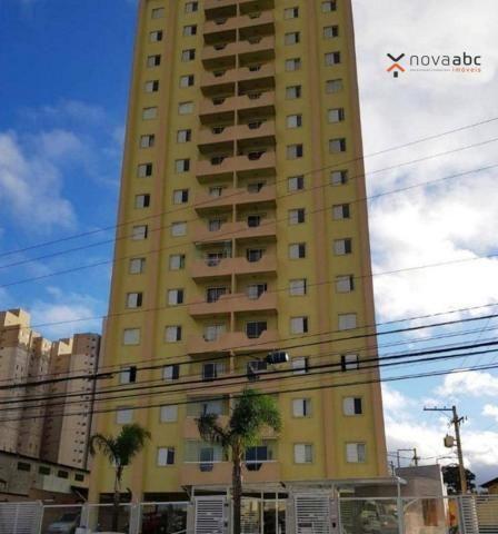 Apartamento com 2 dormitórios para alugar, 75 m² por R$ 1.400/mês - Parque Erasmo Assunção
