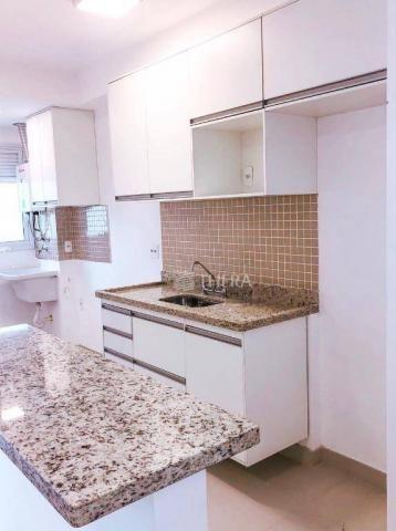 Apartamento com 2 dormitórios para alugar, 71 m² por r$ 2.200/mês - vila assunção - santo  - Foto 2