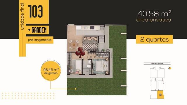 Apartamento à venda com 3 dormitórios em Tingui, Curitiba cod:15417 - Foto 9
