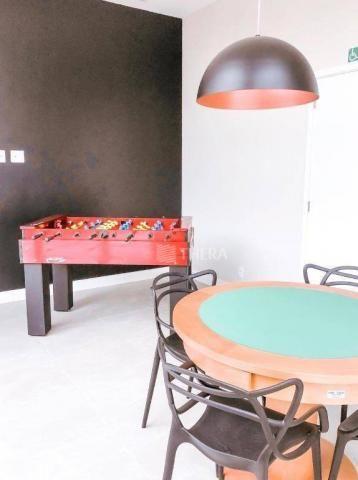 Apartamento com 2 dormitórios para alugar, 71 m² por r$ 2.200/mês - vila assunção - santo  - Foto 16