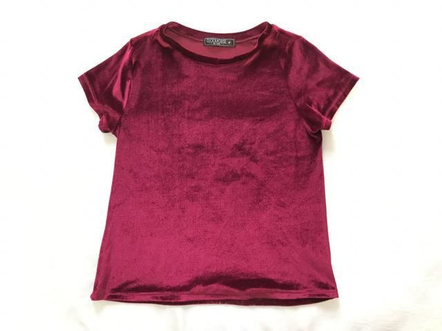 Blusas Camisetas Veludo - Foto 2